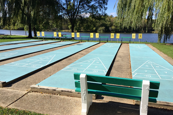 Wisconsin Senior Olympics Shuffleboard Tournament