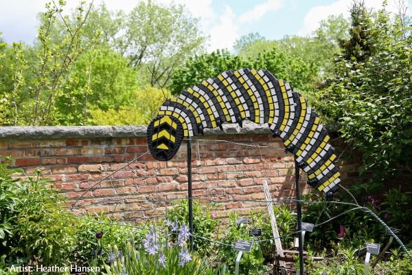 Garden Art Exhibit: Curious Caterpillars