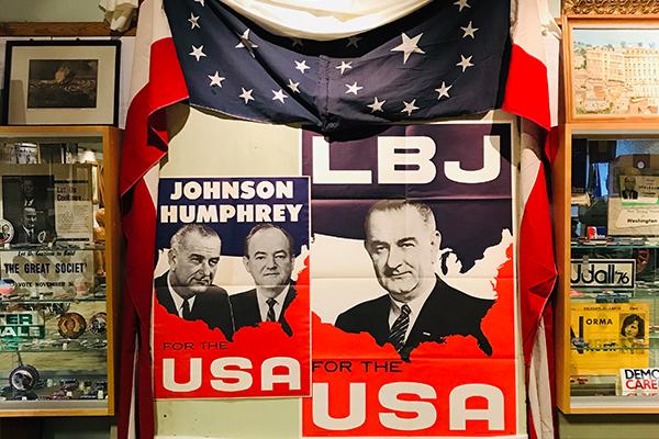 Historic Campaign Memorabilia Exhibit