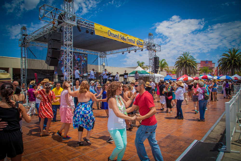 Salsa Dance at the Oxnard Salsa Festival