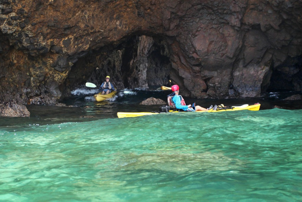 Island Packers guided kayak tours