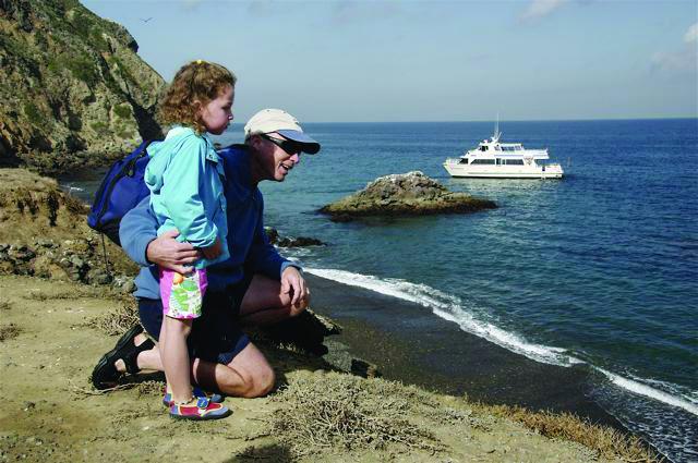 Island Packers Anacapa Island boat trips