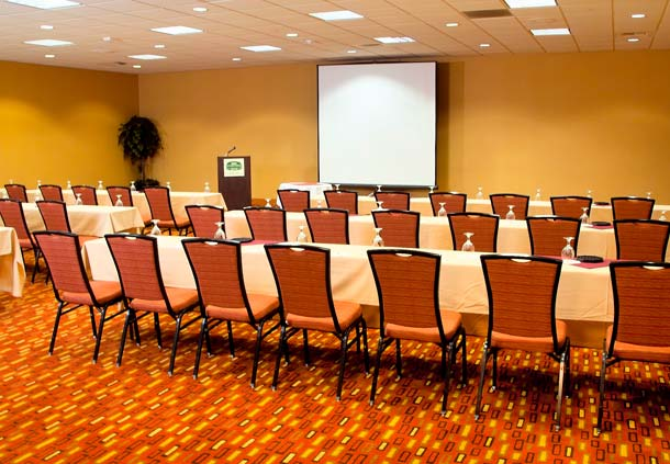 10,000 Square Foot meeting area