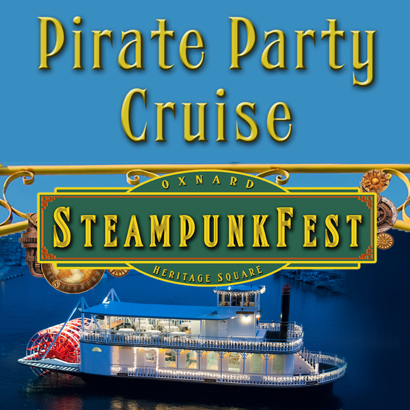 Steampunk Fest's Pirate Party Cruise