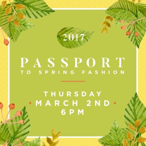 Passport to Spring Fashion