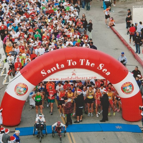 Santa to the Sea Half Marathon