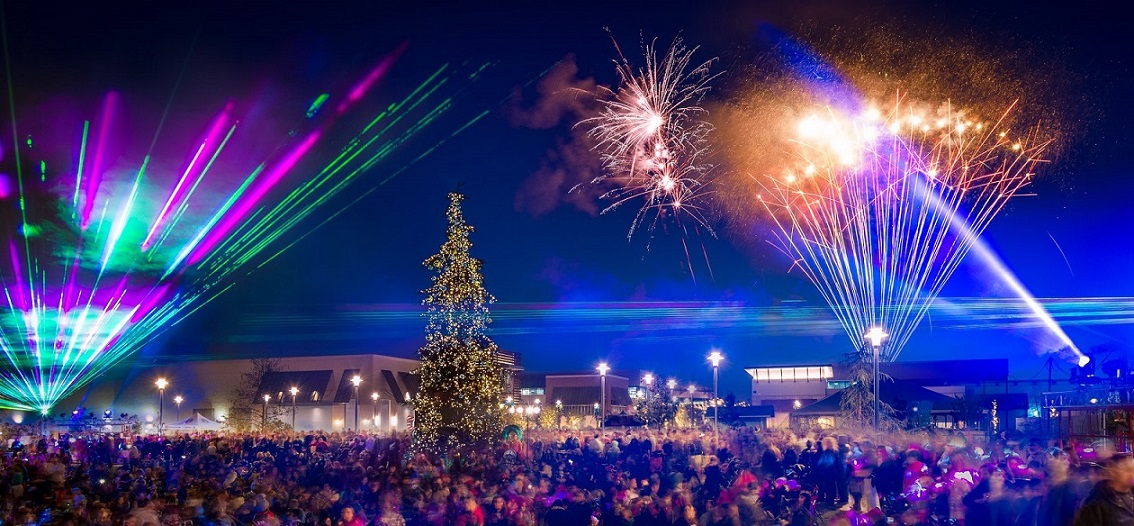 Annual Tree Lighting Ceremony at The Collection