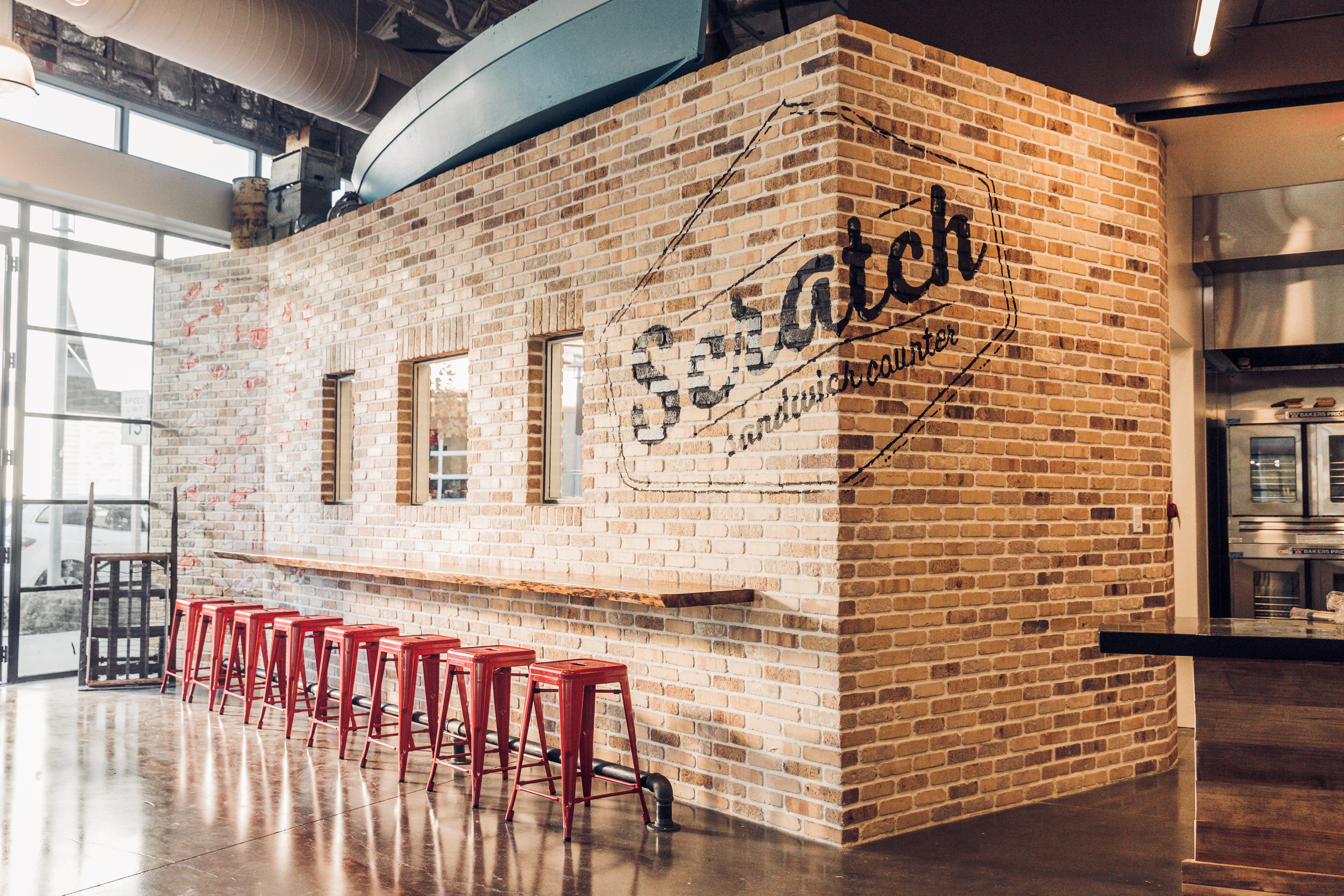 Scratch Sandwich Counter