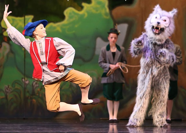 """Footworks Youth Ballet """"Peter and the Wolf"""" with Classical Symphony"""