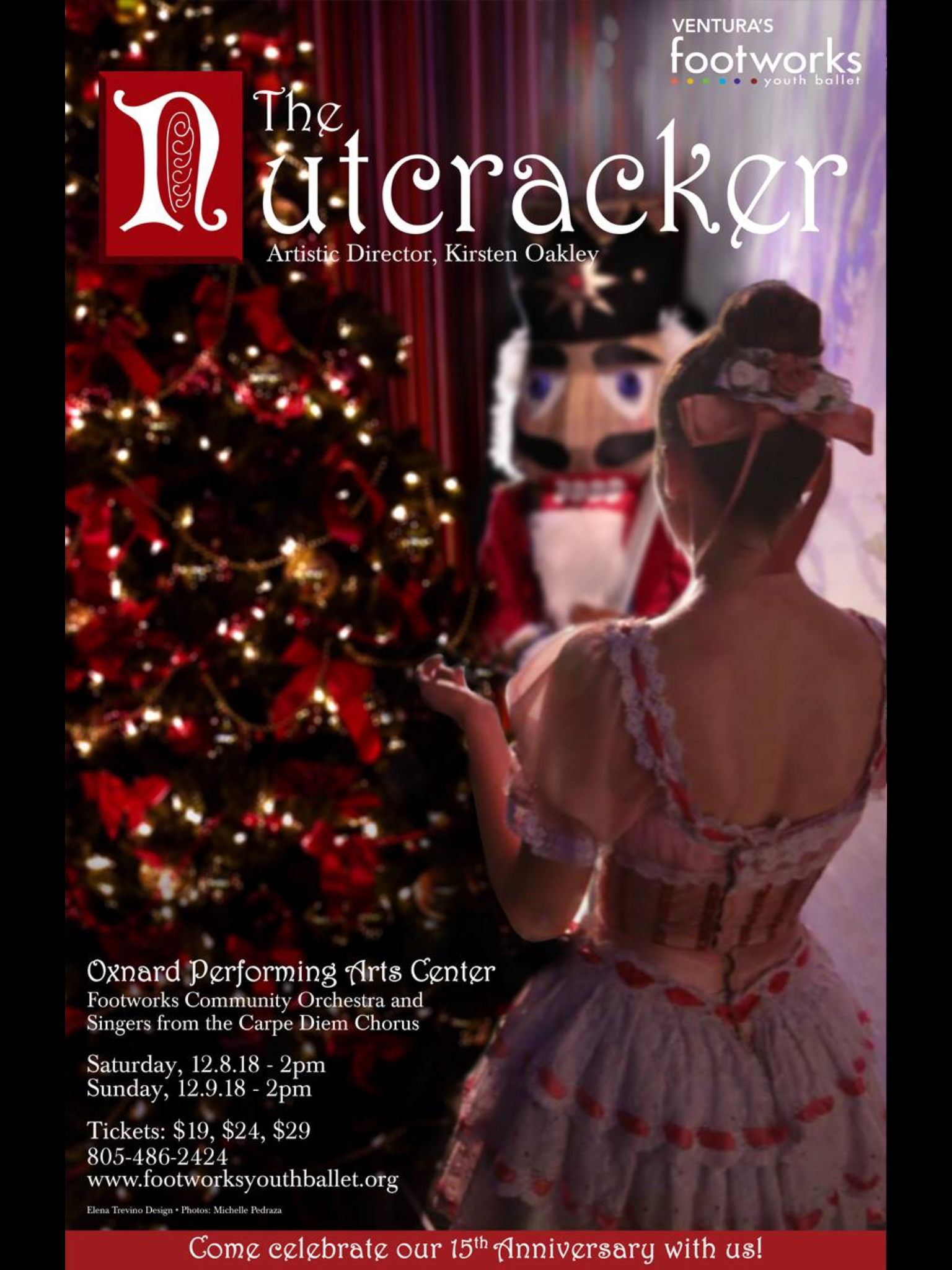 Footworks Youth Ballet present The Nutcracker