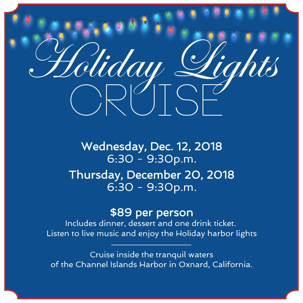 Holiday Lights Cruise