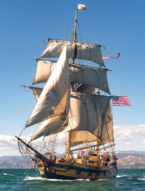 Tall Ship: Hawaiian Chieftain Visits Oxnard