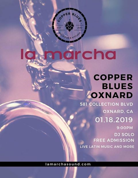 La Marcha at Copper Blues