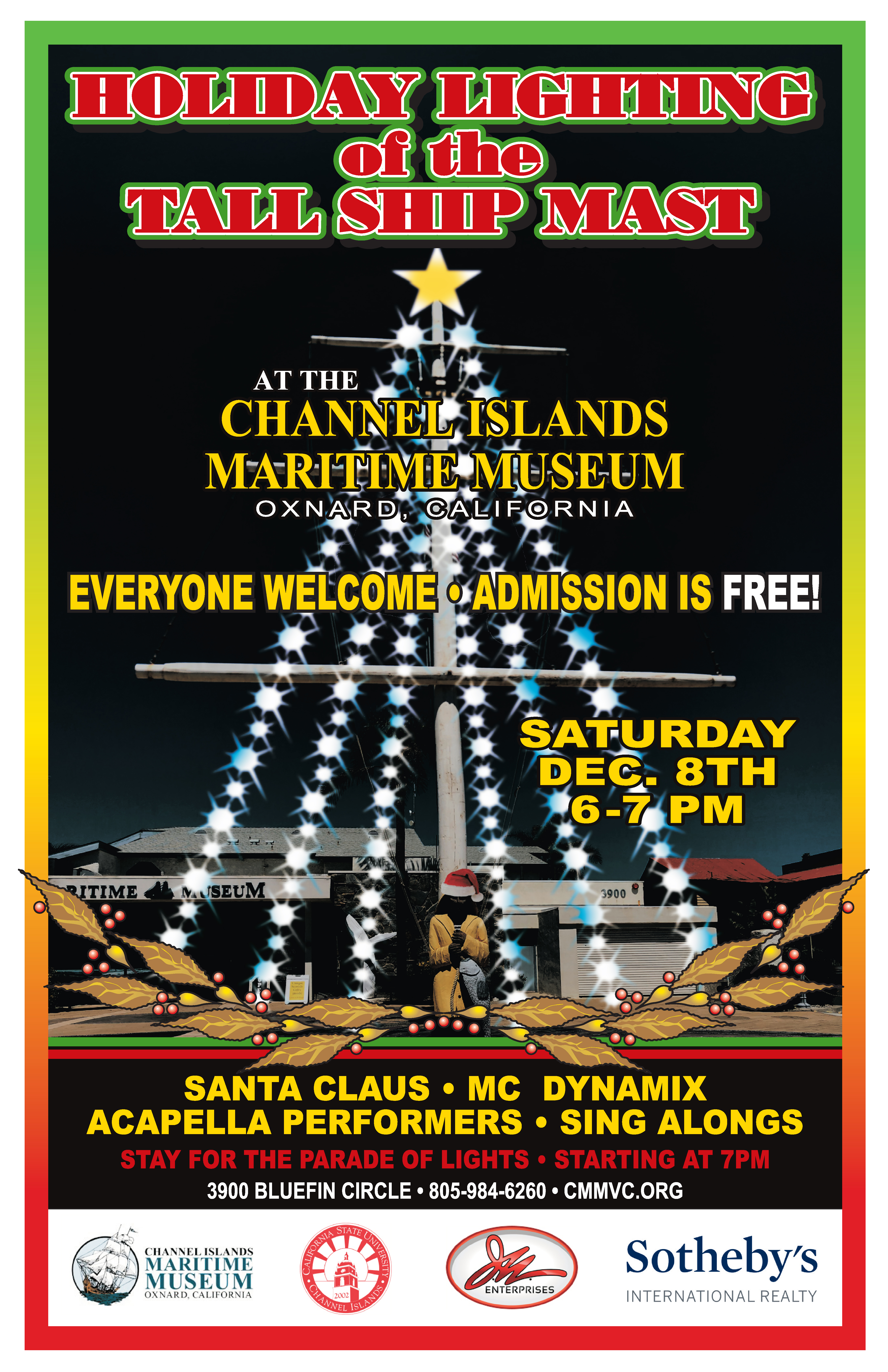 Lighting of the Mast & Parade of Lights Viewing Party