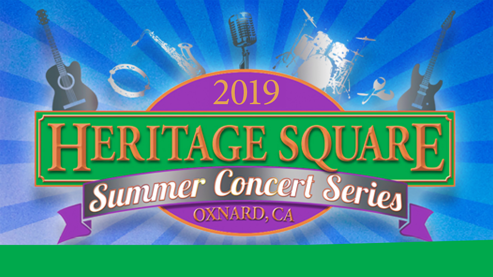 Heritage Square Summer Concert Series  – All Star Band