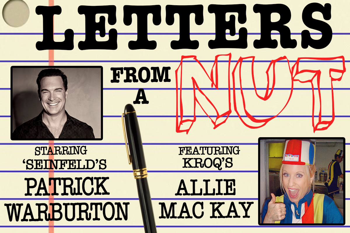 Letters from a Nut at Levity Live