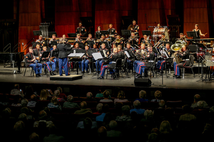 US Marine Corps 1st Division Band at The PACC