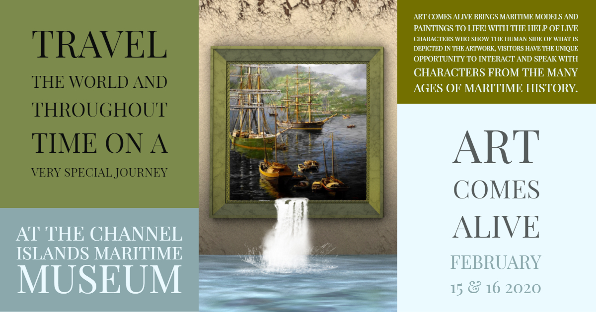 Art Comes Alive at the Channel Islands Maritime Museum
