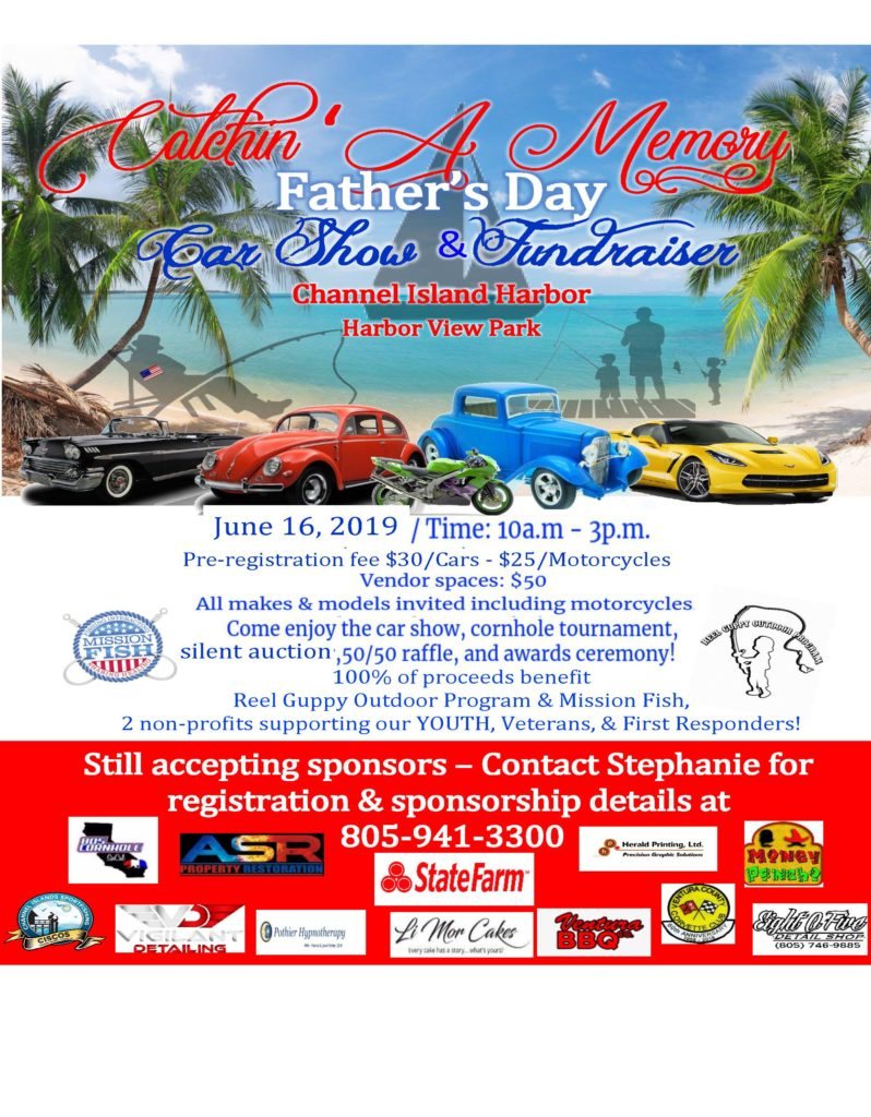 Catchin' A Memory Father's Day Car Show & Fundraiser