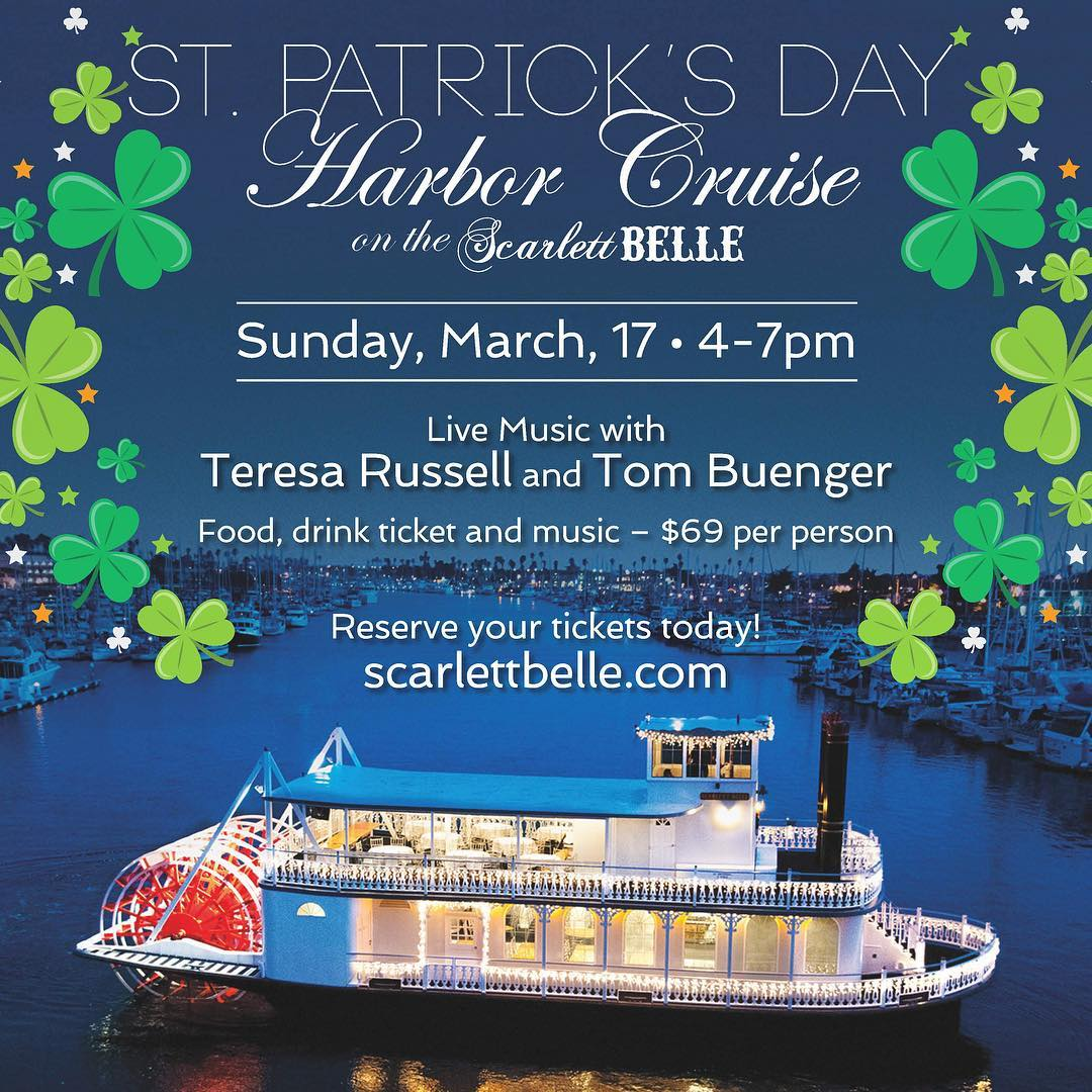St. Patrick's Day Harbor Cruise