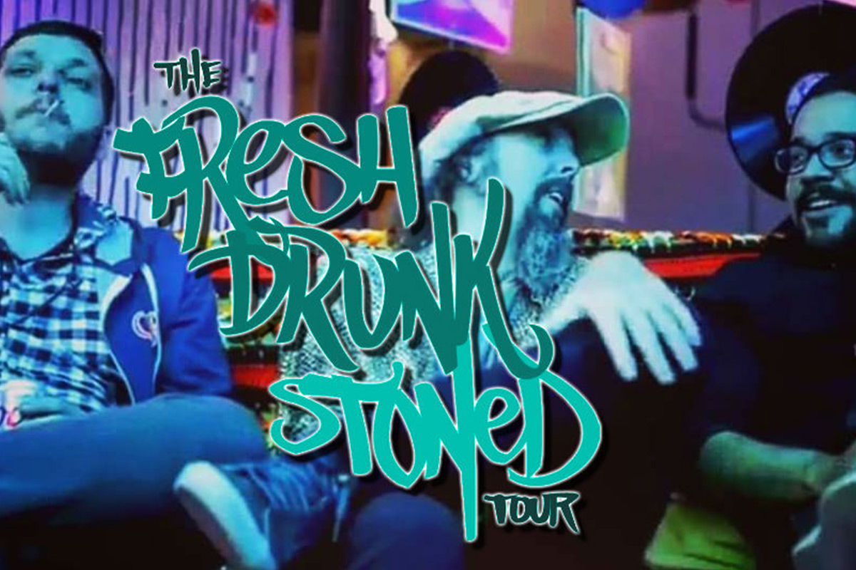 Fresh Drunk Stoned Comedy Tour at Levity Live