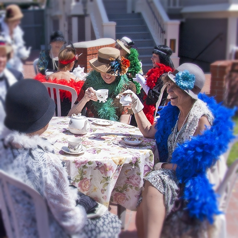Spring Tea at Heritage Square