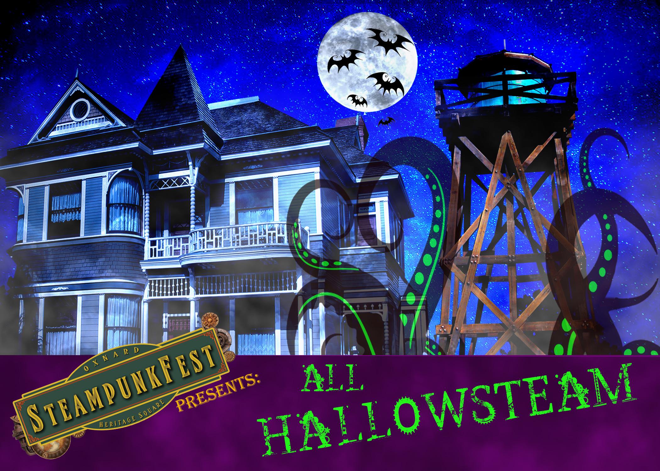 Oxnard Steampunk Fest: All Hallowsteam