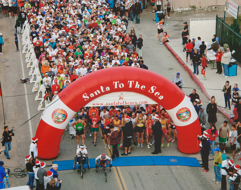 Santa to the Sea Half Marathon & Finish Line Festival