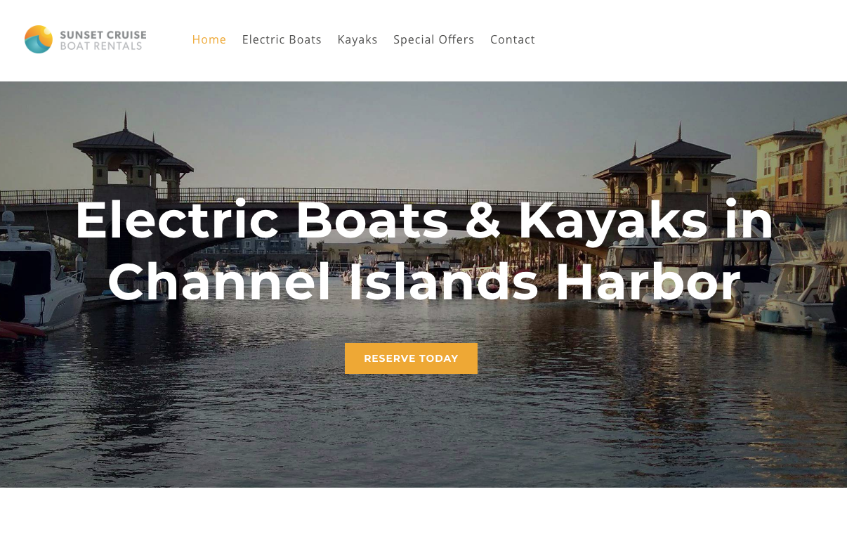 Sunset Boat Rentals at Seabridge