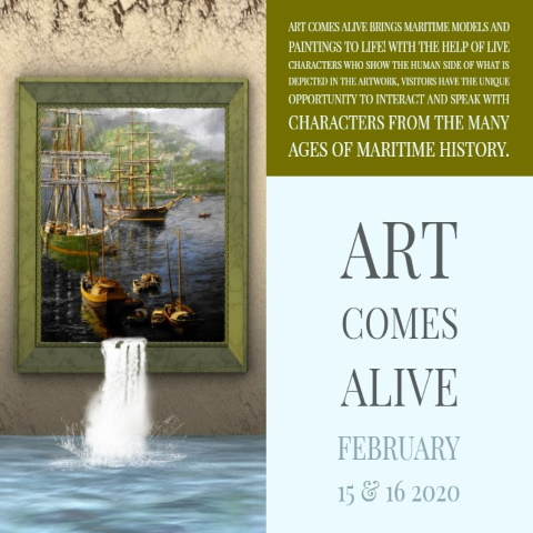 Art Comes Alive!! at The Maritime