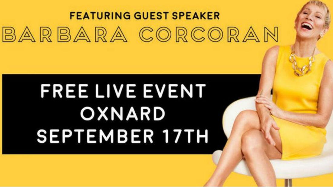 Shark Tank's Barbara Corcoran Live at the PACC
