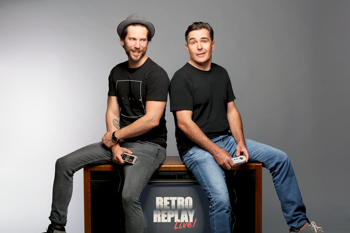Retro Replay Live with Nolan North & Troy Baker at Levity Live