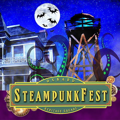 Oxnard SteampunkFest – All Hallowsteam