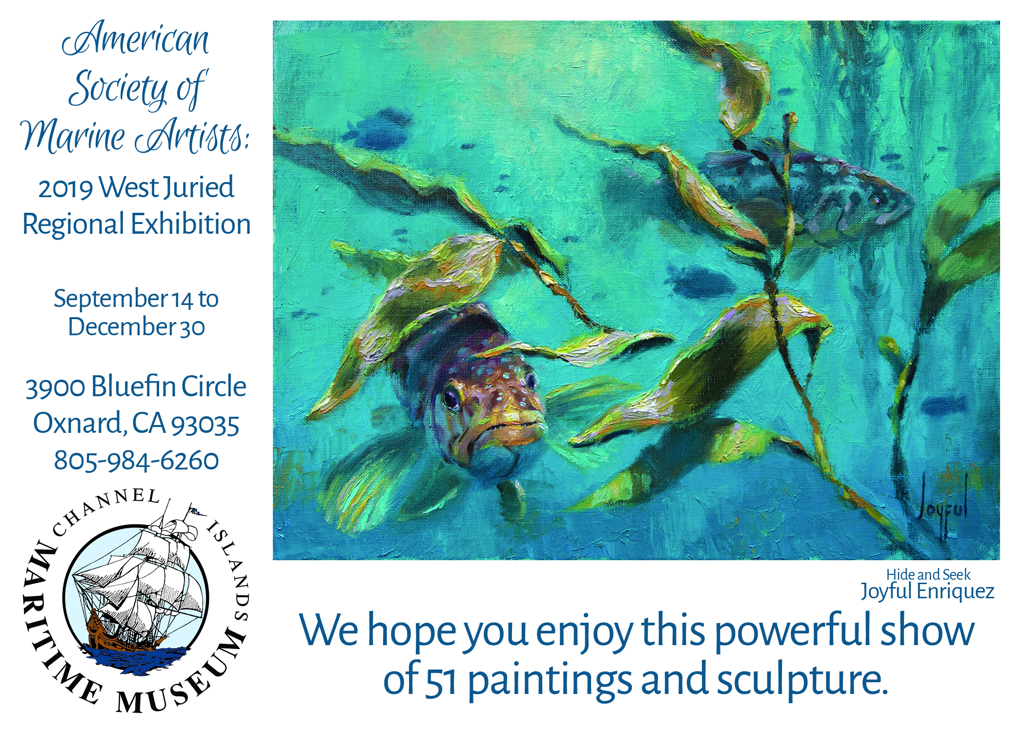 American Society of Marine Artists Preview Reception