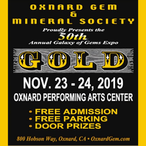 50th Annual Galaxy of the Gems Expo – Gold