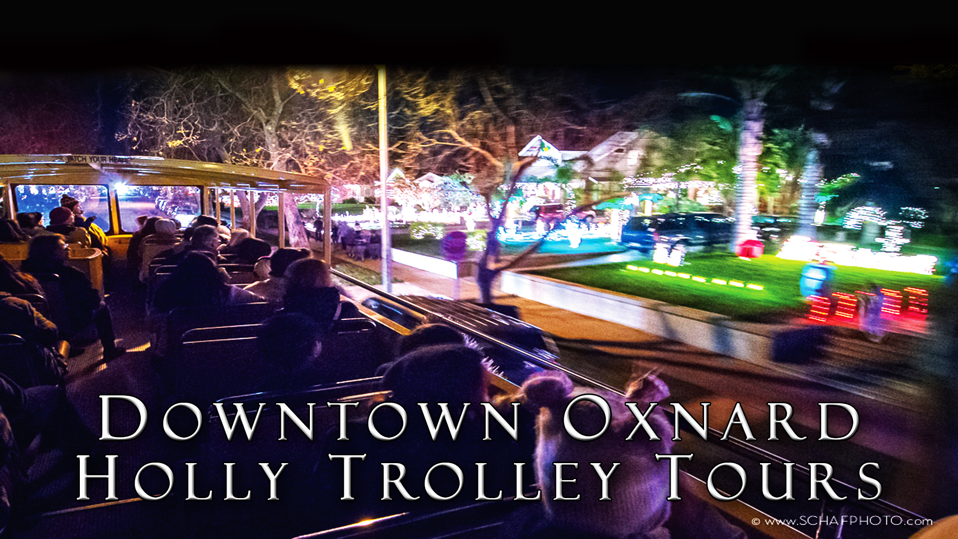 Holly Trolley Holiday Light Tour