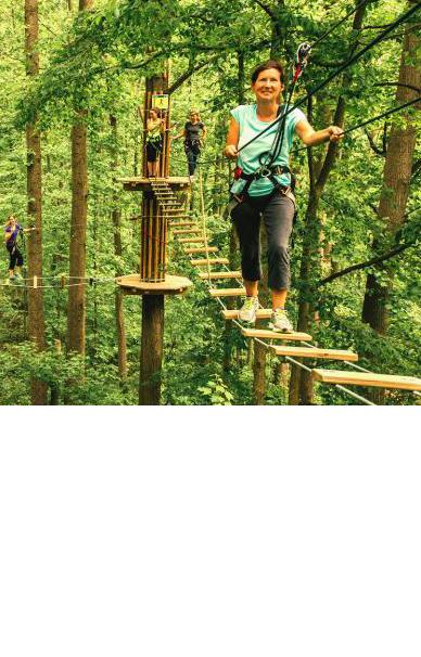 Test B Go Ape Treetop Adventure & Zipline Course