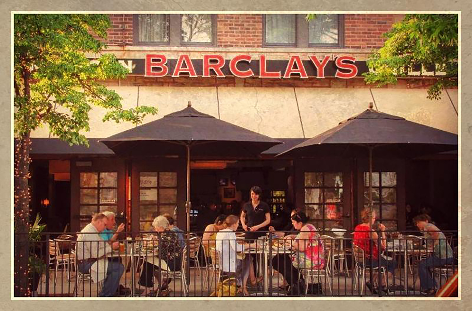 Test B Barclay's American Grille