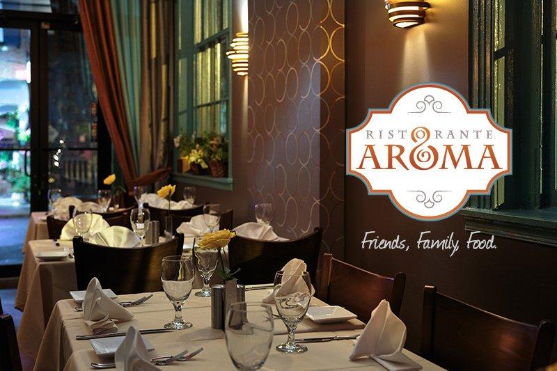 Ristorante Aroma Supports the Arts in Philadelphia - 10% off your bill