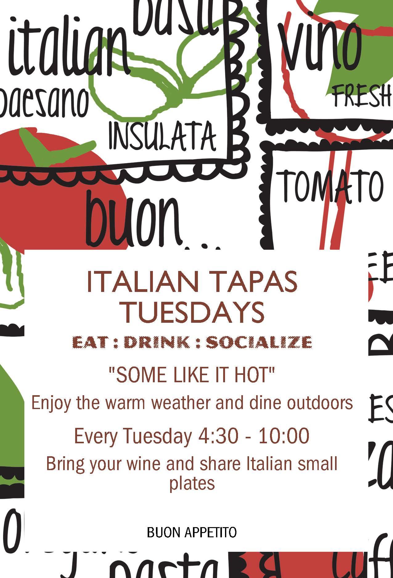 Ristorante Aroma - Italian Tapas Tuesdays