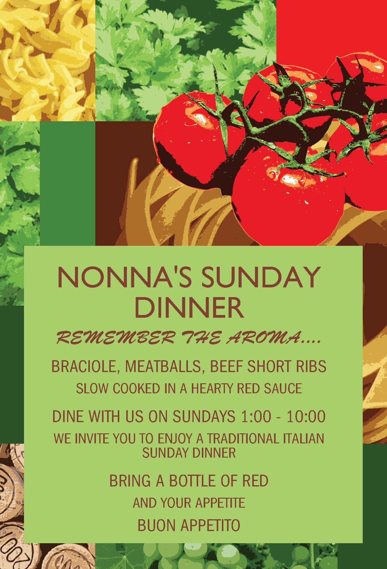 Ristorante Aroma - Nonna's Sunday Dinner