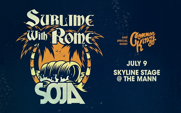 Sublime with Rome with SOJA, Common Kings, & Seranation