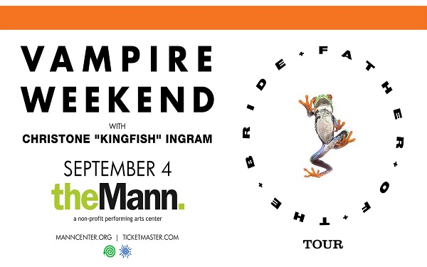 """Vampire Weekend Father of the Bride Tour with Christone """"Kingfish"""" Ingram"""