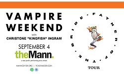 "Vampire Weekend Father of the Bride Tour with Christone ""Kingfish"" Ingram"