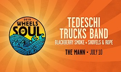 XPN Welcomes Tedeschi Trucks Band: Wheels of Soul 2019 with Blackberry Smoke and Shovels & Rope