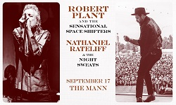 Robert Plant and The Sensational Space Shifters · Nathaniel Rateliff & The Night Sweats with Lillie