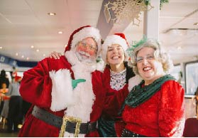 Lunch with Santa Cruise