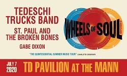 Tedeschi Trucks Band: Wheels of Soul 2020 with St. Paul & The Broken Bones & Gabe Dixon