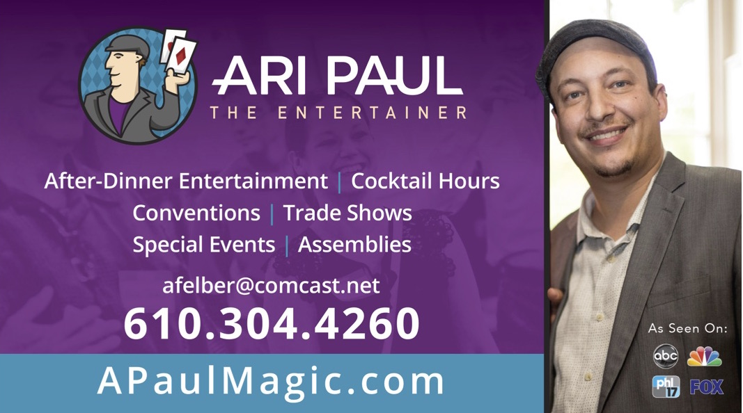 Ari Paul Comedy Magic And Mind Reading
