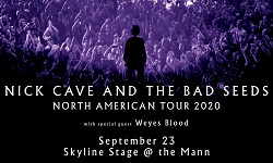 Nick Cave and The Bad Seeds with special guest Weyes Blood